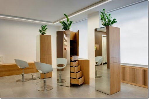 Beauty Centre Hairstylist Salon Interior Design With